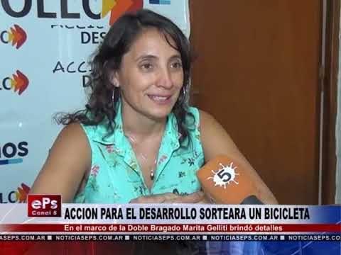 ACCION PARA EL DESARROLLO SORTEARA UN BICICLETA