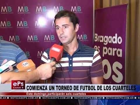 COMIENZA UN TORNEO DE FUTBOL DE LOS CUARTELES