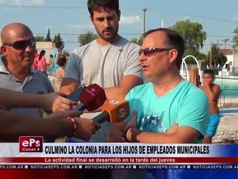 CULMINO LA COLONIA PARA LOS HIJOS DE EMPLEADOS MUNICIPALES
