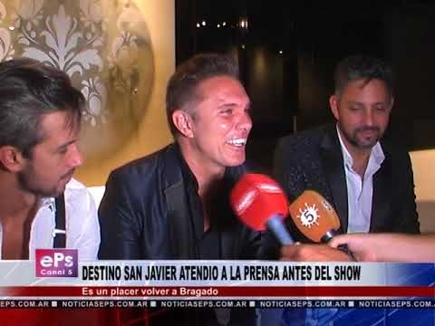 DESTINO SAN JAVIER ATENDIO A LA PRENSA ANTES DEL SHOW