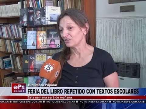FERIA DEL LIBRO REPETIDO CON TEXTOS ESCOLARES