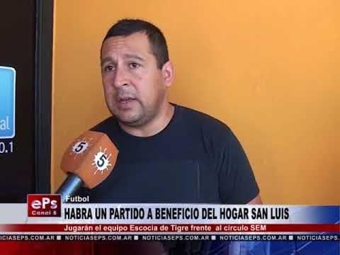 HABRA UN PARTIDO A BENEFICIO DEL HOGAR SAN LUIS