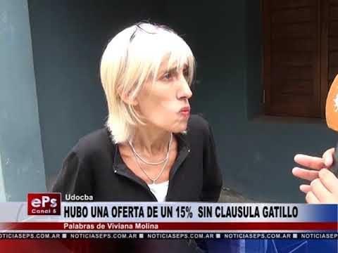 HUBO UNA OFERTA DEL 15% Y SIN CLAUSULA GATILLO