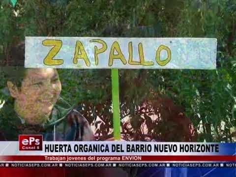 HUERTA ORGANICA DEL BARRIO NUEVO HORIZONTE