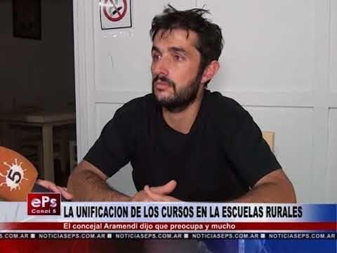 LA UNIFICACION DE LOS CURSOS EN LA ESCUELAS RURALES