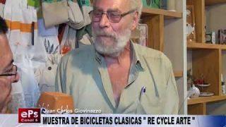 MUESTRA DE BICICLETAS CLASICAS RE CYCLE ARTE