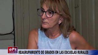 REAGRUPAMIENTO DE GRADOS EN LAS ESCUELAS RURALES
