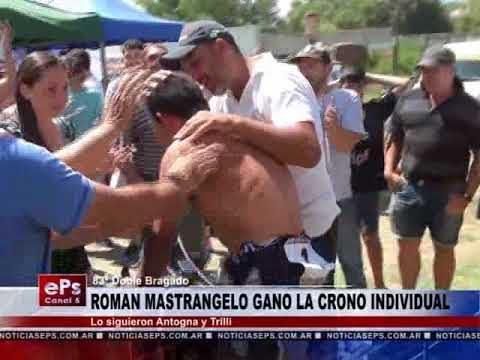 ROMAN MASTRANGELO GANO LA CRONO INDIVIDUAL