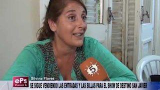 SE SIGUE VENDIENDO LAS ENTRADAS Y LAS SILLAS PARA EL SHOW DE DESTINO SAN JAVIER