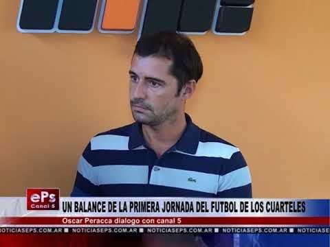 UN BALANCE DE LA PRIMERA JORNADA DEL FUTBOL DE LOS CUARTELES