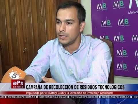 CAMPAÑA DE RECOLECCION DE RESIDUOS TECNOLOGICOS