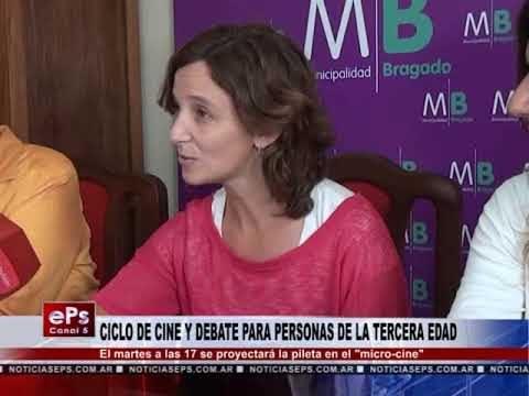 CICLO DE CINE Y DEBATE PARA PERSONAS DE LA TERCERA EDAD