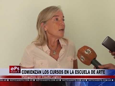 COMIENZAN LOS CURSOS EN LA ESCUELA DE ARTE