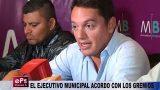 EL EJECUTIVO MUNICIPAL ACORDO CON LOS GREMIOS