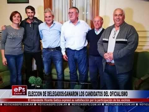ELECCION DE DELEGADOS GANARON LOS CANDIDATOS DEL OFICIALISMO