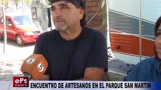 ENCUENTRO DE ARTESANOS EN EL PARQUE SAN MARTIN
