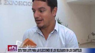 ESTA TODO LISTO PARA LAS ELECCIONES DE LOS DELEGADOS EN LOS CUARTELES