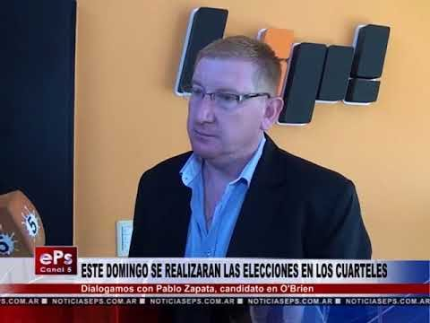 ESTE DOMINGO SE REALIZARAN LAS ELECCIONES EN LOS CUARTELES