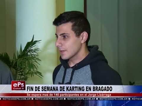 FIN DE SEMANA DE KARTING EN BRAGADO