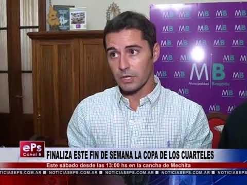 FINALIZA ESTE FIN DE SEMANA LA COPA DE LOS CUARTELES