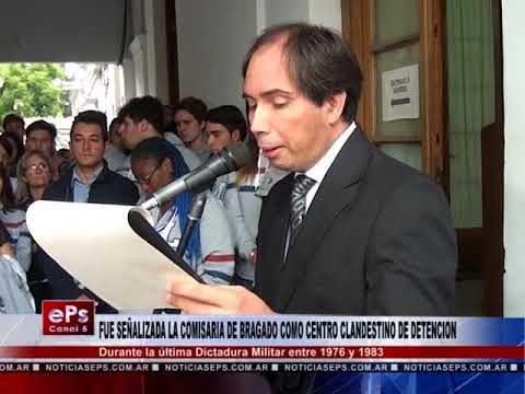 FUE SEÑALIZADA LA COMISARIA DE BRAGADO COMO CENTRO CLANDESTINO DE DETENCION