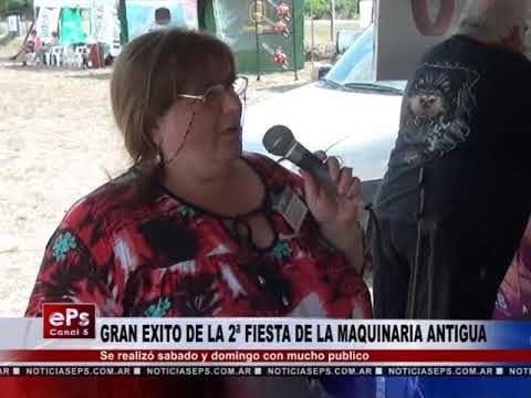 GRAN EXITO DE LA 2ª FIESTA DE LA MAQUINARIA ANTIGUA