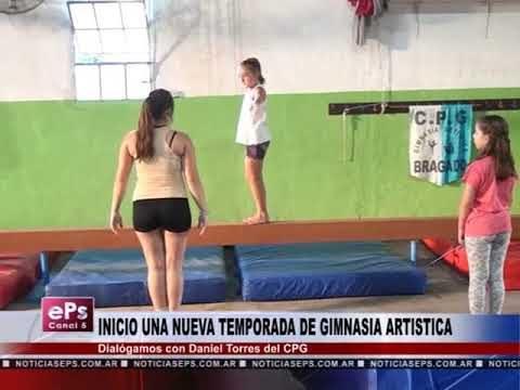 INICIO UNA NUEVA TEMPORADA DE GIMNASIA ARTISTICA