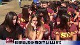 SE INAUGURO EN MECHITA LA EES Nº10