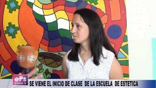 SE VIENE EL INICIO DE CLASE DE LA ESCUELA DE ESTETICA