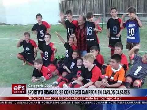 SPORTIVO BRAGADO SE CONSAGRO CAMPEON EN CARLOS CASARES