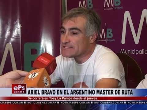 ARIEL BRAVO EN EL ARGENTINO MASTER DE RUTA