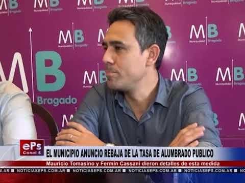 EL MUNICIPIO ANUNCIO REBAJA DE LA TASA DE ALUMBRADO PUBLICO