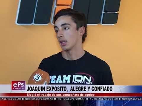 JOAQUIN EXPOSITO, ALEGRE Y CONFIADO
