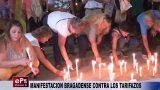 MANIFESTACION BRAGADENSE CONTRA LOS TARIFAZOS