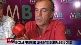 NICOLAS FERNANDEZ LLORENTE SE RETIRA DE SU CARGO