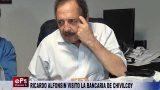 RICARDO ALFONSIN VISITO LA BANCARIA DE CHIVILCOY