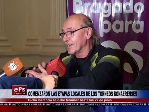 COMENZARON LAS ETAPAS LOCALES DE LOS TORNEOS BONAERENSES