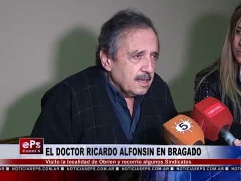 EL DOCTOR RICARDO ALFONSIN EN BRAGADO PARTE 2