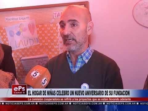 EL HOGAR DE NIÑAS CELEBRO UN NUEVO ANIVERSARIO DE SU FUNDACION
