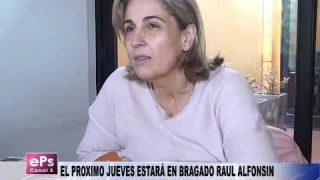 EL PROXIMO JUEVES ESTARÁ EN BRAGADO RAUL ALFONSIN