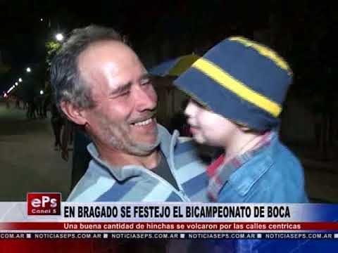 EN BRAGADO SE FESTEJO EL BICAMPEONATO DE BOCA