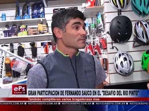 GRAN PARTICIPACION DE FERNANDO SAUCO EN EL DESAFIO DEL RIO PINTO