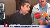 JUDICIALES SE REUNIERON EN BRAGADO