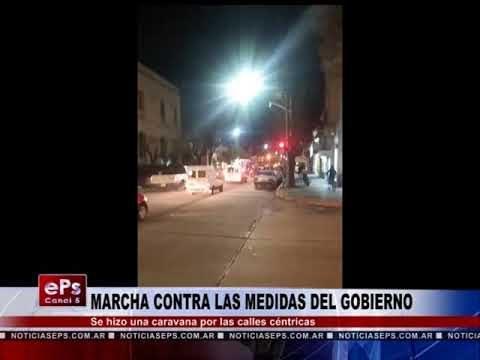 MARCHA CONTRA LAS MEDIDAS DEL GOBIERNO