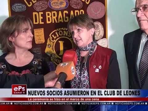 NUEVOS SOCIOS ASUMIERON EN EL CLUB DE LEONES