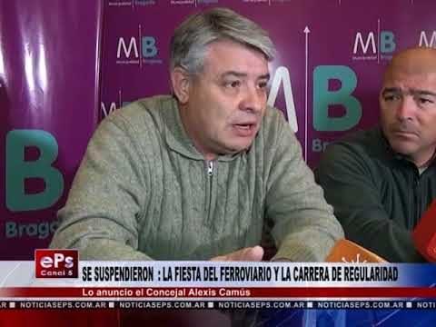 SE SUSPENDIERON LA FIESTA DEL FERROVIARIO Y LA CARRERA DE REGULARIDAD