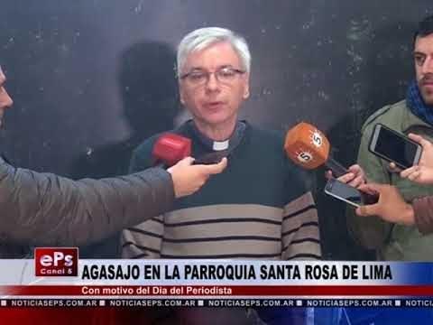 AGASAJO EN LA PARROQUIA SANTA ROSA DE LIMA