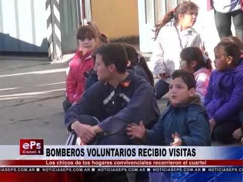 BOMBEROS VOLUNTARIOS RECIBIO VISITAS