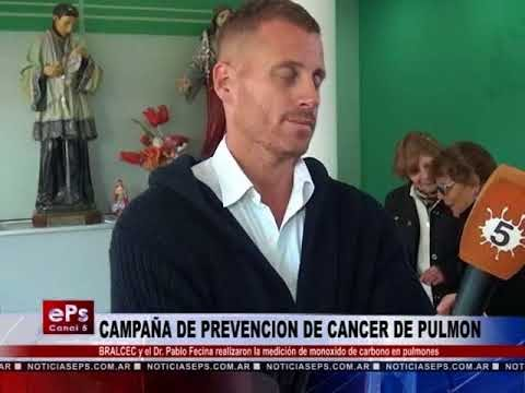 CAMPAÑA DE PREVENCION DE CANCER DE PULMON