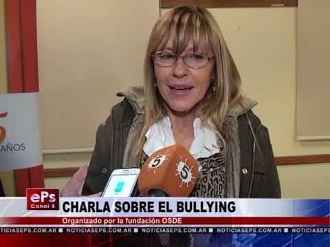CHARLA SOBRE EL BULLYING
